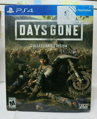 Days Gone Collector's Edition Limited PlayStation 4 Sony PS4 Brand New Sealed