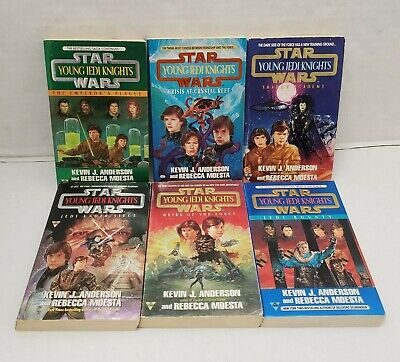6 Star Wars Yound Jedi Knights Kevin Anderson Shadow Academy Crisis At Reef Lot