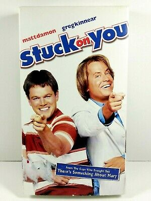 Stuck on You (VHS, 2004) Matt Damon, Greg Kinnear, Eva Mendes, Cher