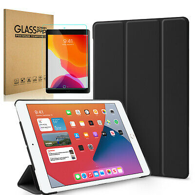 For Apple iPad 10.2'' 2019 7th Case Shockproof Stand Cover with Screen Protector