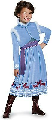 Frozen Anna Adventure Deluxe Girls size XS 3T/4T Disney Licensed Costume