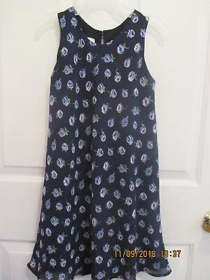girls St. Michaels from Mark & Spencer size 8 lined dress