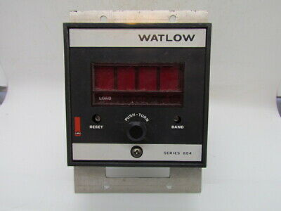 "Watlow 806 Model 804D-2604-0000 Type ""K"" Used"