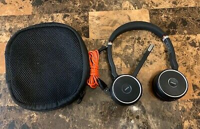 Jabra Evolve 75 ms Model Hsc040w (11) Hours Charge Remaining!!!