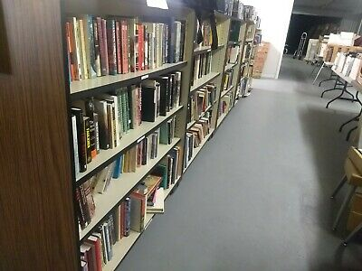 Large lot of 2500+ Books from an Amazon Bookstore Business