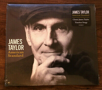 ***BRAND NEW - FACTORY SEALED CD*** American Standard by James Taylor
