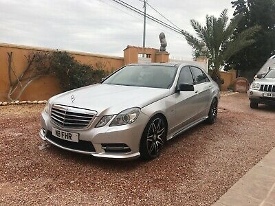 2009 09 Mercedes E350 Cdi Automatic Amg Sport Flagship Model Currently in Spain