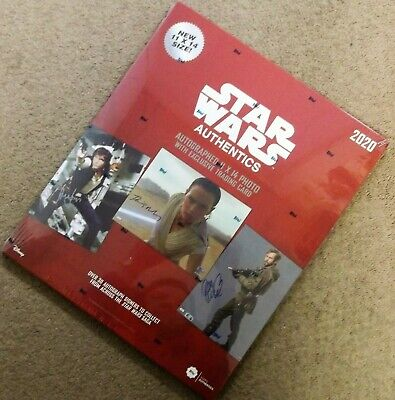 2020 Topps Star Wars Authentics Autographs Hobby Box FREE SAME DAY SHIPPING!