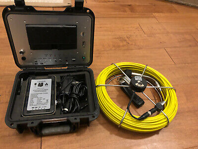 """ForBest 7"""" Control Station with 130 Feet Inspection camera MINT!"""