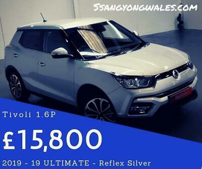 2019 SsangYong Tivoli 1.6 Ultimate (s/s) 5dr