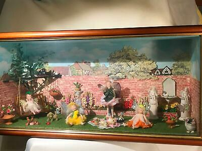 Fairy Diorama all hand painted in Australia