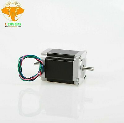 1PC Nema23 Stepper Motor 23HS8630B Dual Shaft 270oz.in 3A 76mm 6Leads CNC Router