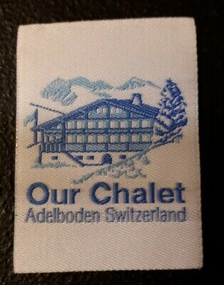 """Girl Guides """"Our Chalet"""" Ribbon Badge"""