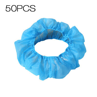 50pcs Disposable Toilet Covers Cushions Seat Cover Non-woven Business K1R5