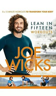 Joe Wicks - Lean in 15 Workouts 8 x 15 Minute Workouts NEW AND SEALED DVD