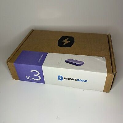 Phone Soap V3 Uv Cell Phone Sanitizer Open Box Brand New Periwinkle