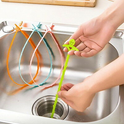 Kitchen Bathroom Drain Sewer Clean Tool New Hair Plungers Pipe Sink Hook