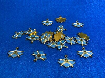 Lot of 24 1970's Vintage Parachute Skydiving Charms