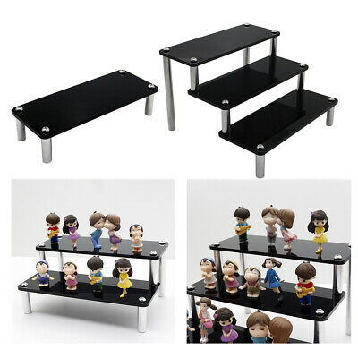 Acrylic Rack Makeup Cosmetics Holder Storage Ladder Organizers Collections Toys