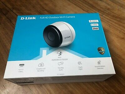 DLINK DCS-8600LH 1080p HD outdoor WI-FI camera with Alexa/Google support