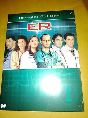 ER The Complete First Season 1 DVD Box Set Brand New Factory Sealed FreeShip
