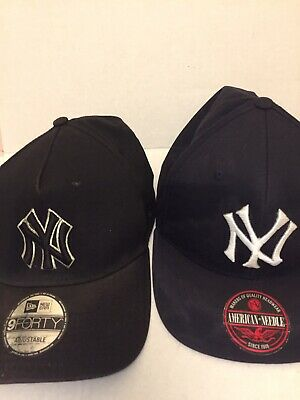 9forty cap AND American Needle New York Yankees Cap