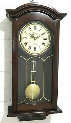 Vintage Musical Westminster Chime Battery Wall Clock #1683