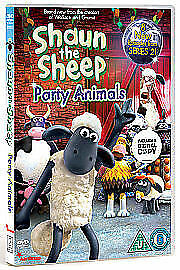 Shaun The Sheep - Party Animals (DVD, 2010) NEW SEALED