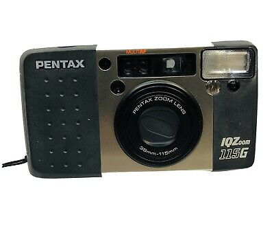 Pentax IQZoom 115G Point And Shoot 35mm Film Camera 38mm-115mm