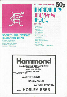 1979 Steve Coussins Testimonial - HOUNSLOW & DISTRICT LADIES v. SUSSEX LADIES