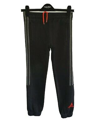 Boys ADIDAS Cuffed Tracksuit Bottoms Age 10-11 Years