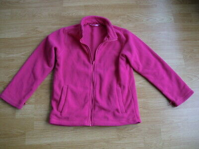 Girls Pink Fleece Top. Crane.  Age 9 - 10