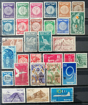 Timbres d'Israel / Israel Stamps