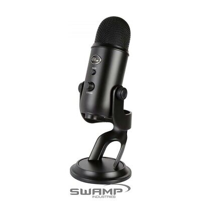 Blue Yeti Studio USB Recording Microphone - Blackout - podcasts and musicians