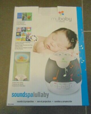 Homedics MyBaby SoundSpa Lullaby Sounds and Projection New in Box