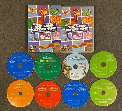 The Land Before Time: Complete Film Collection (DVD, 2016, 8-Disc Set)