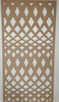 Radiator Cabinet Decorative Screening Perforated 3mm&6mm thick MDF laser cut KS1