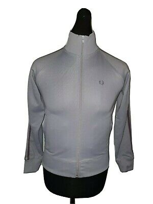 Girls FRED PERRY Cuffed Full Zip Track Top Age 13-14 Years