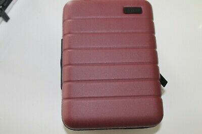 """Brand New! Away Travel """"The Mini"""" Travel Case Toiletry in Brick (Red)"""