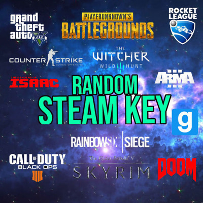 5X Premium Random Steam Key PUBG, GTA V, RUST, RED DEAD ⭐ INSTANT DELIVERY ⭐