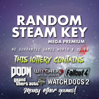 6 LEGENDARY VIP Random Steam Keys Worth Value + 80.00$ ⭐ INSTANT DELIVERY ⭐