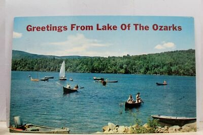 Missouri MO Lake of the Ozarks Greetings Postcard Old Vintage Card View Standard