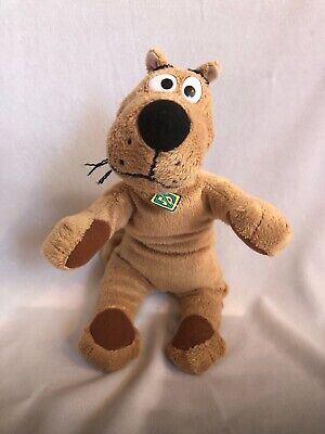 "WARNER BROTHERS STUDIO HANNA BARBERA SCOOBY SHAGGY 9/"" PLUSH BEAN BAG TOY"