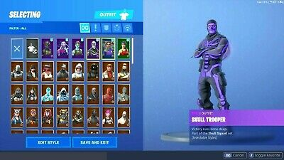 Fortnite Accounts - 30-60 Skins - Rare Skins Hidden - Top Quality
