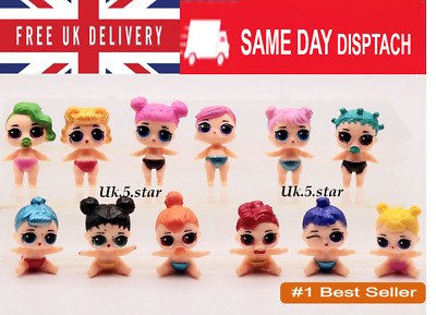 LOL SURPRISE DOLL Blind Mystery Figure Cake Topper Toy - Mini baby 12PCS