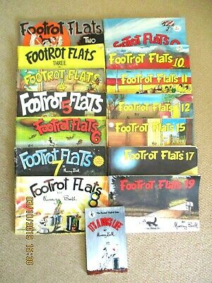 ~FOOTROT FLATS COMIC BOOKS x 15 by MURRAY BALL- 2 to 12, 15, 17, 19 & DOG'S LIFE