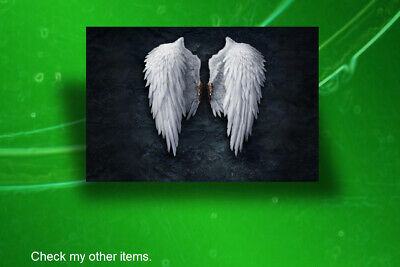 ANGEL WINGS,ART,CANVAS,POSTER PRINTS,FRAMED,UNFRAMED from A3