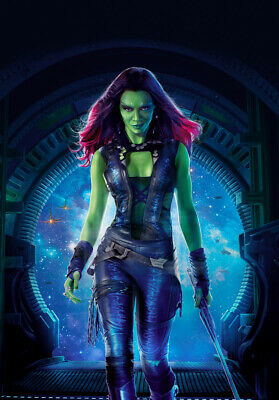 Gamora, MOVIE,ART POSTER,ART PRINT, from A3