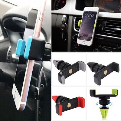 Universal 360° Rotating Car Mobile Phone Holder Air Vent Mount Cradle for GPS