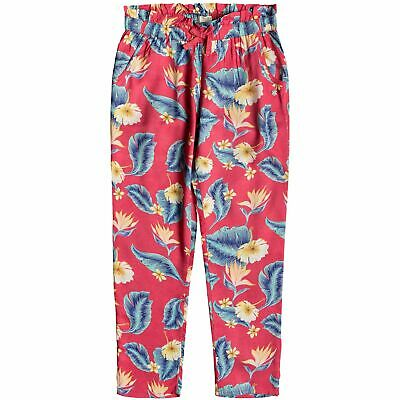 ROXY Happiest Day - Viscose Trousers for Girls - Barberry Tropical Love Pink